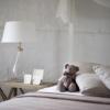 クマとベッド