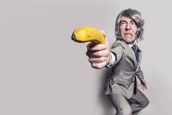 バナナとスーツ